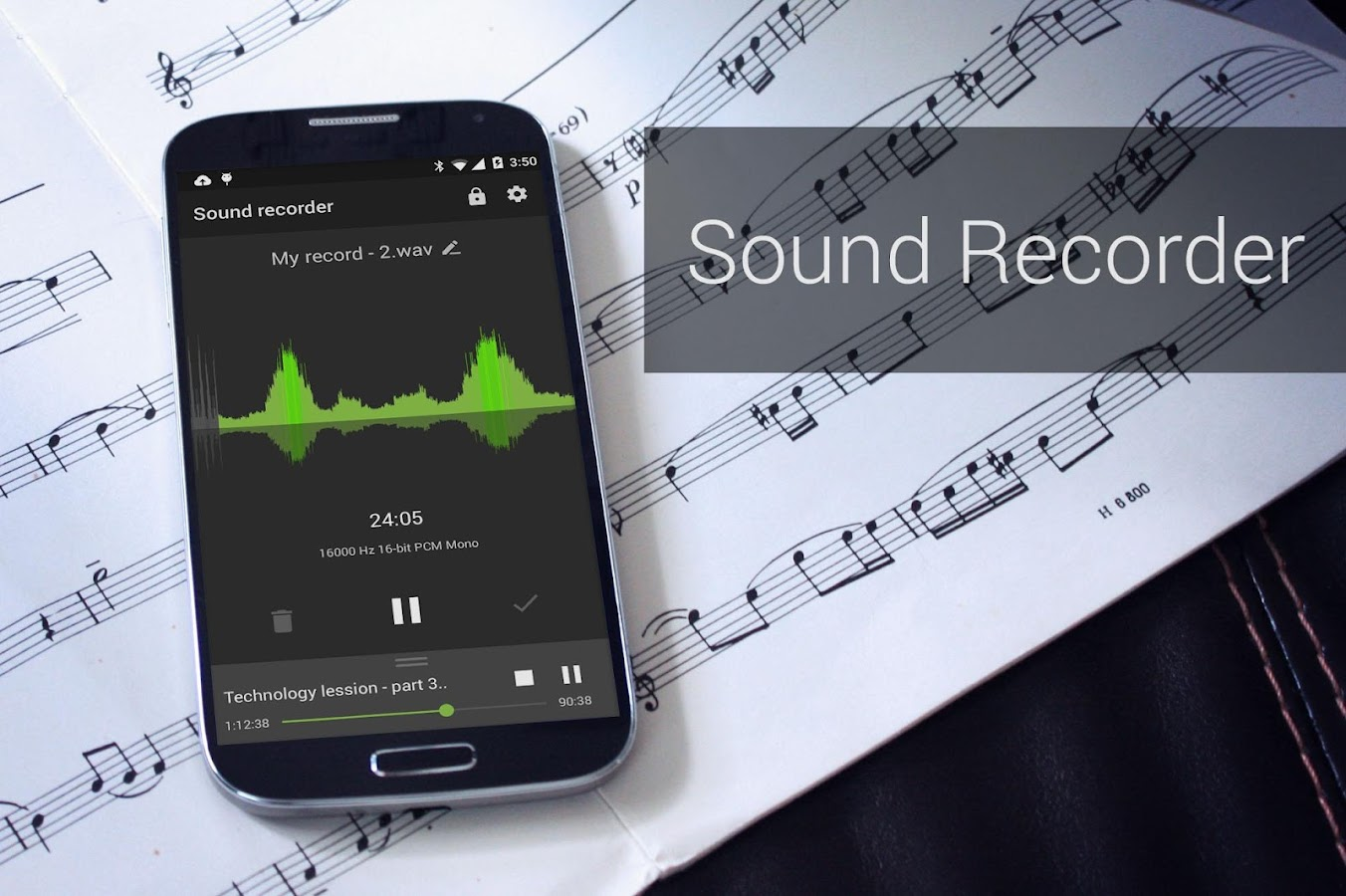 Recordr - Sound Recorder Pro Screenshot 10