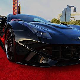 Ferrari Nose by Jeffrey Lorber - Transportation Automobiles ( lorberphoto, @lorberphoto, ferrari, #lorberphoto, rust 'n chrome, caffeine and exotics, jeffrey lorber )