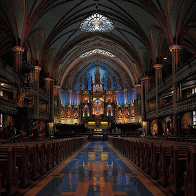 Notre-Dame of Montreal by Of-the-Star Designs - Buildings & Architecture Places of Worship ( religion, catholic, christianity, church, cathedral, catholic church )