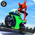 Free 3D Hero Super Spider Rider - Moto Traffic Shooter APK for Windows 8