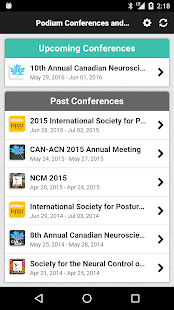 Podium Conferences & Events - screenshot