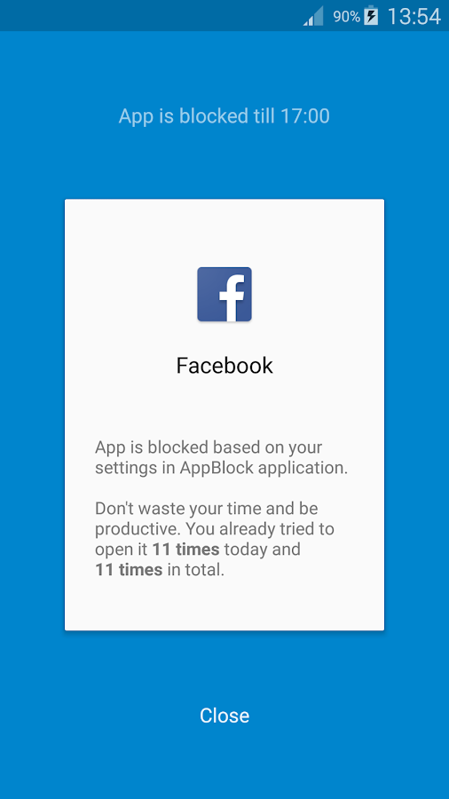 AppBlock - Stay Focused Screenshot 1