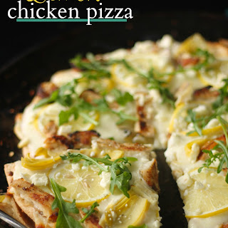 Lemon Chicken Pizza Recipes