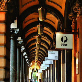 A corridor in Sydney by Ajay Sharma - Buildings & Architecture Public & Historical