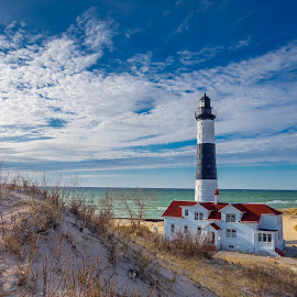 Big Sable Point Lighthouse by Stevan Tontich - Landscapes Travel