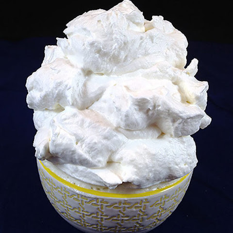 Sweet (Stabilized) Stiff Whipped Cream