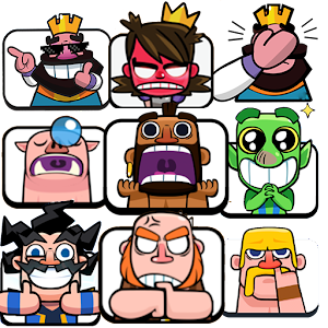 Stickers Clash Royale - WAStickerApps For PC / Windows 7/8/10 / Mac – Free Download