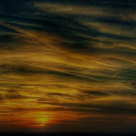 Painted sky by Janja R Sanja - Instagram & Mobile Android
