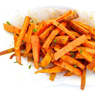 Roasted Sweet Potatoes With Latin Spice Mix