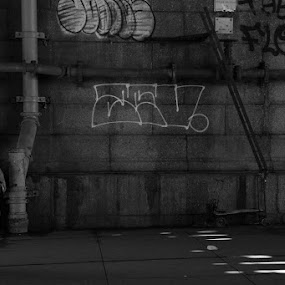 Busted by VAM Photography - Black & White Street & Candid ( b&w, places, culture, nyc, man, people )