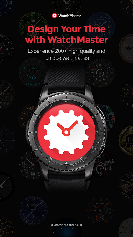 WatchMaster - Watch Face Screenshot 1