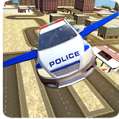 APK Game Flying Police Car Evolution for BB, BlackBerry