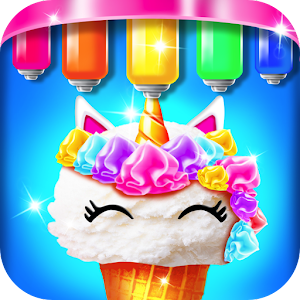 Mermaid Glitter Cupcake Chef - Ice Cream Cone Game For PC (Windows & MAC)