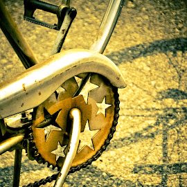treading stars by Eva Ryan - Transportation Bicycles (  )