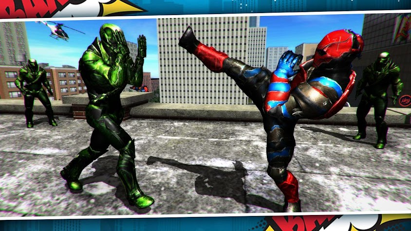 Infinite Crystals - War of Superheroes with Chaos Screenshot