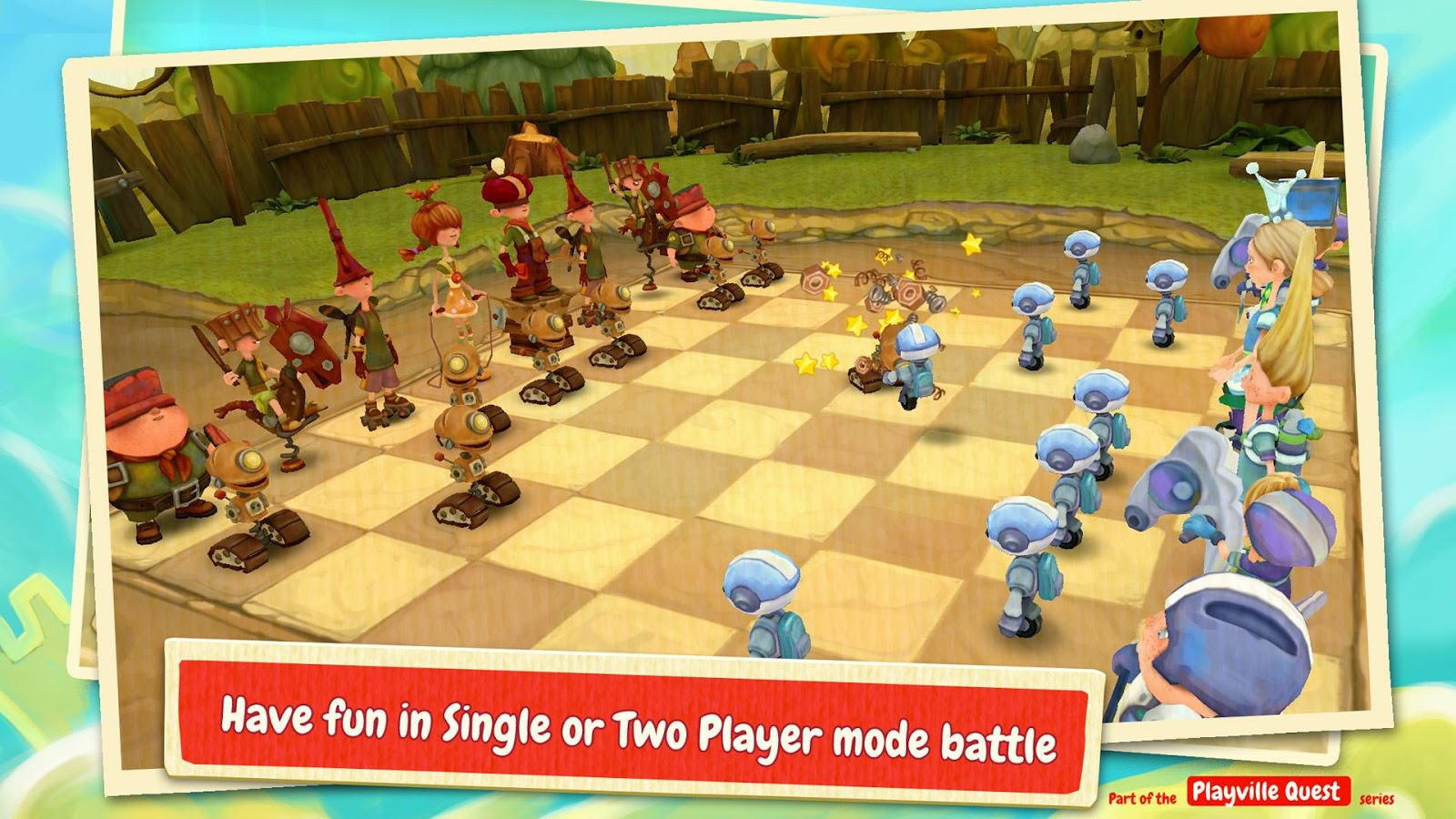 Тoon Clash Chess Screenshot 2