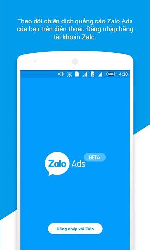 Zalo Ads screenshot 1