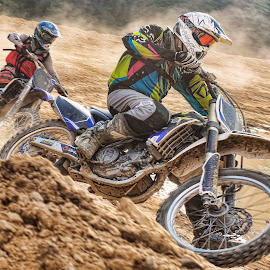 Race by Stane Gortnar - Sports & Fitness Motorsports ( motocross, dirtbike, motorcycle, race, cross )