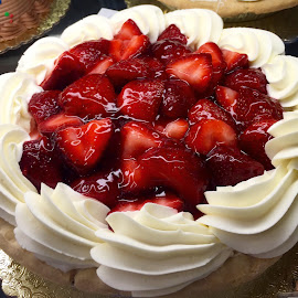 Strawberry Pie Anyone? by Lope Piamonte Jr - Food & Drink Candy & Dessert
