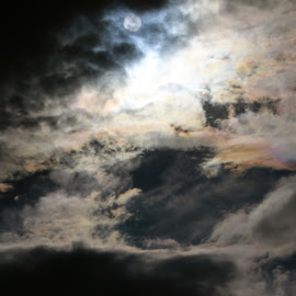 Rainbow Painted Clouds by Saumya Pareek - Novices Only Abstract ( sky, nature, lighting, majestic, rainbow )