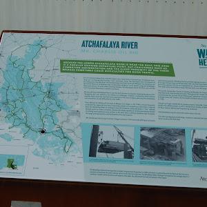 Atchafalaya River - Mr. Charlie Oil Rig