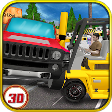 Real Car Forklift simulator 3D