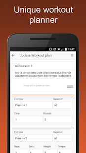 The app for personal trainers - screenshot