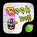 Rock Roll GO Keyboard Theme APK for Bluestacks