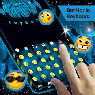 Batmania Keyboard - screenshot