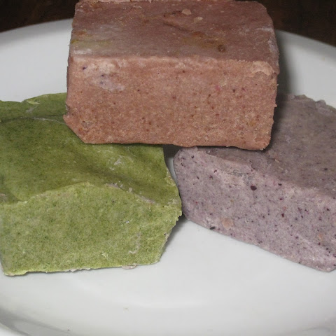 Naturally-Colored Dairy-Free Easter Fudge (special diet options)
