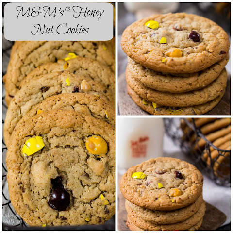 M&M's® Honey Nut Cookies