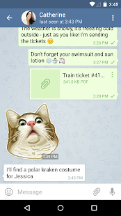 Telegram APK for iPhone