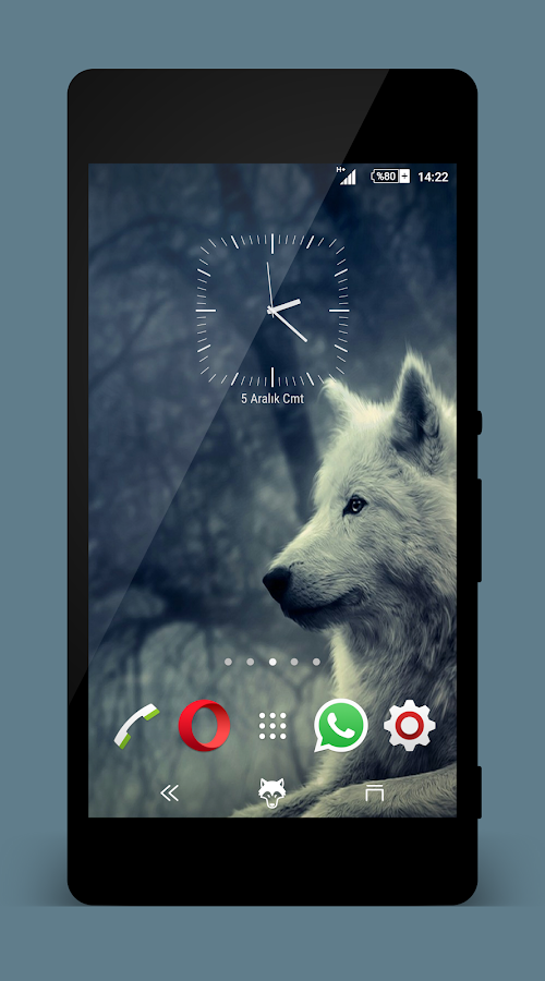 Theme Xperien Wolf Pro Screenshot 2