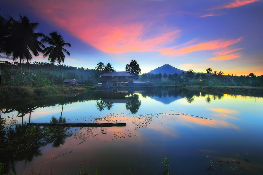 Cermin Pagi by Andrew Supit - Landscapes Sunsets & Sunrises