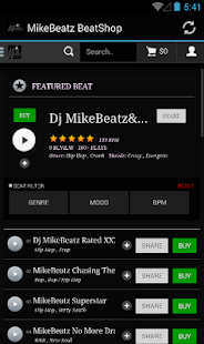 MikeBeatz BeatShop - screenshot