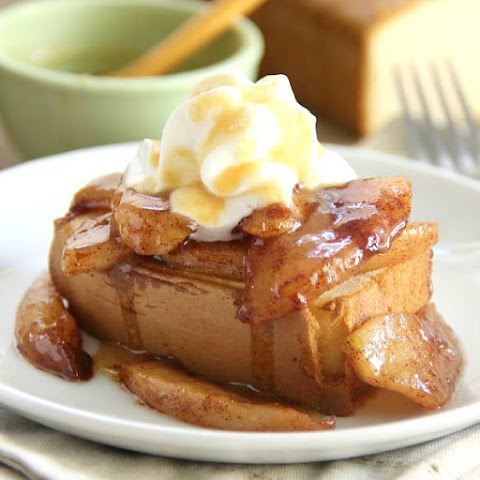 Caramel Apple Pound Cake