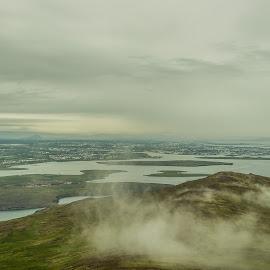 by Ríkarður Óskarsson - Landscapes Cloud Formations