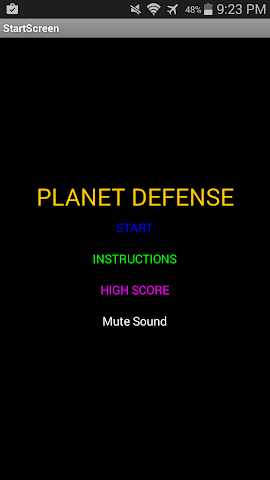 android Planet Defender Screenshot 1