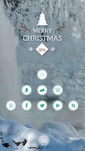 Dim light snow theme - screenshot