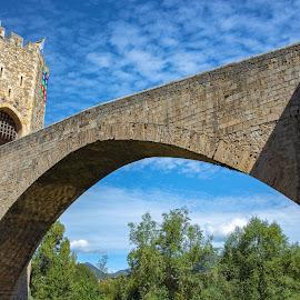 puente Besalú by Roberto Gonzalo - Buildings & Architecture Bridges & Suspended Structures ( besalú, puente, bridge )