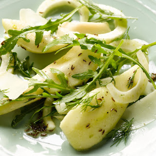 Pear And Fennel Salad With Caraway And Pecorino