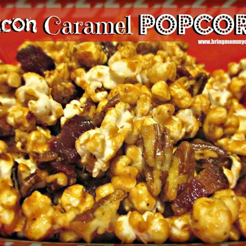 Bacon Pecan Caramel Corn