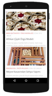 Knitting and Crochet Patterns- screenshot thumbnail
