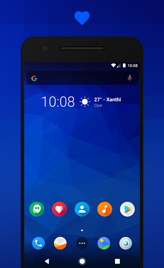 Flux - CM13/12.1 Theme Screenshot 0