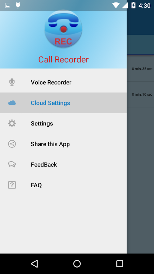 Call Recorder Pro Screenshot 10