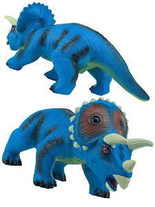 "Игрушка-фигурка серии ""Город Игр"", динозавр трицератопс XL, со звуком"