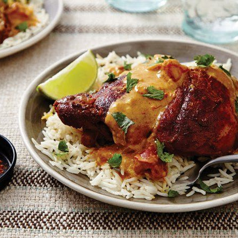 Slow-Cooker Coconut Chicken Tikka Masala
