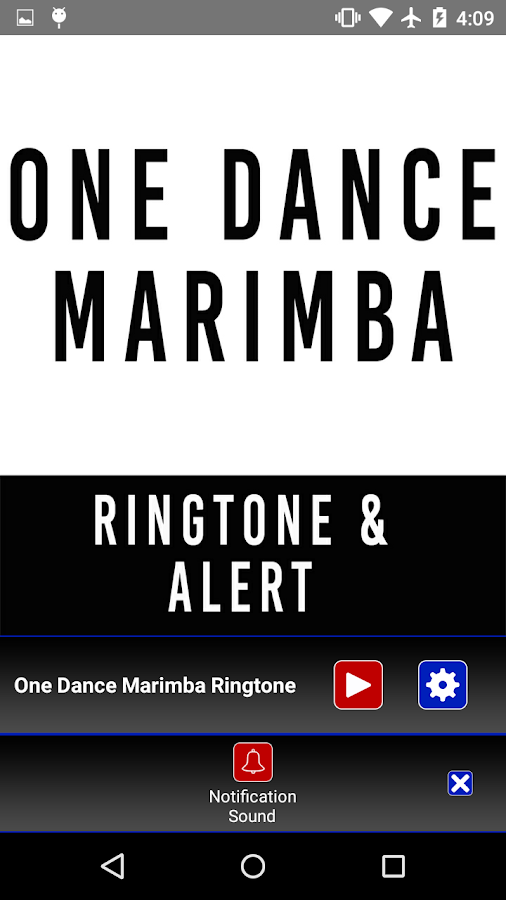 Ein Tanz Marimba Ringtone und Alert android apps download