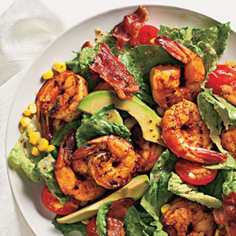 garlic black pepper shrimp avocado salad recipes dishmaps garlic black ...