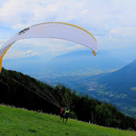 Paraglider by Ornella  Signorini - Sports & Fitness Other Sports